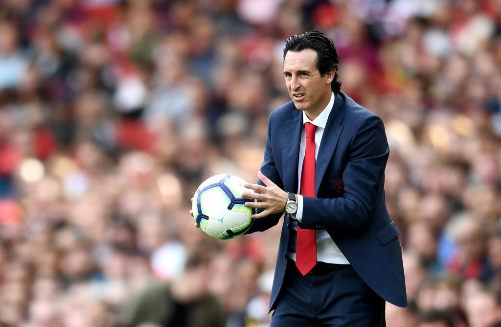Finally getting the hand of Emery-ball. (Picture Courtesy - AFP/Getty Images)