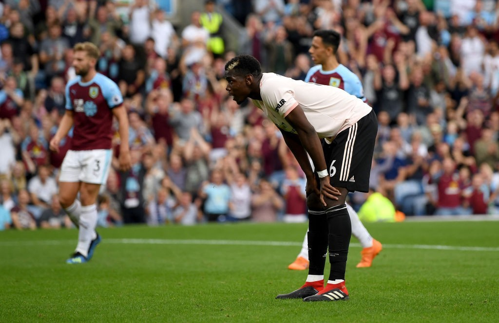 Paul Pogba has often cut a disinterested figure at Manchester United this season. (Photo courtesy - Shaun Botterill/Getty Images)