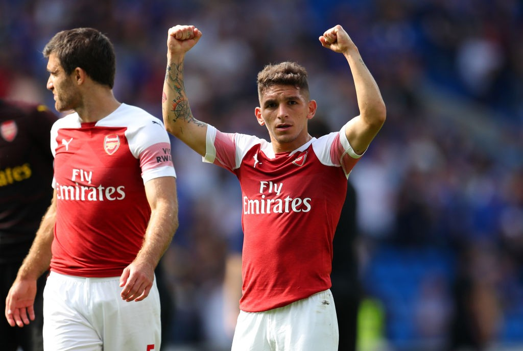Luccas Torreira could make his first start for Arsenal against Newcastle United. (Photo courtesy: AFP/Getty)