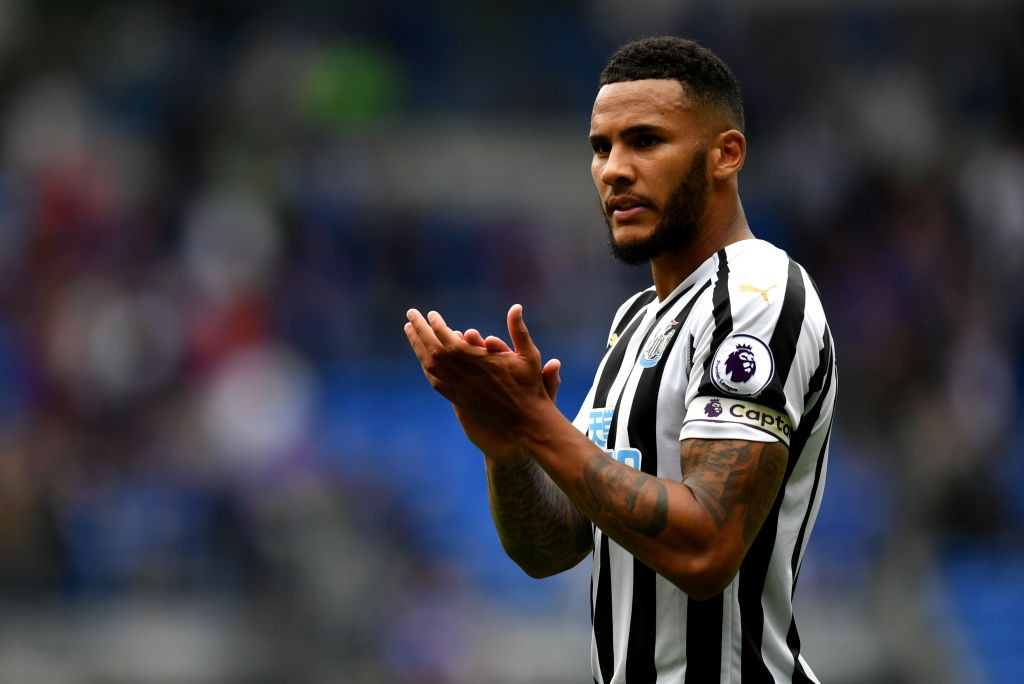 Jamal Lascelles returns to the Newcastle side after recovering from an ankle injury. (Photo courtesy: AFP/Getty)