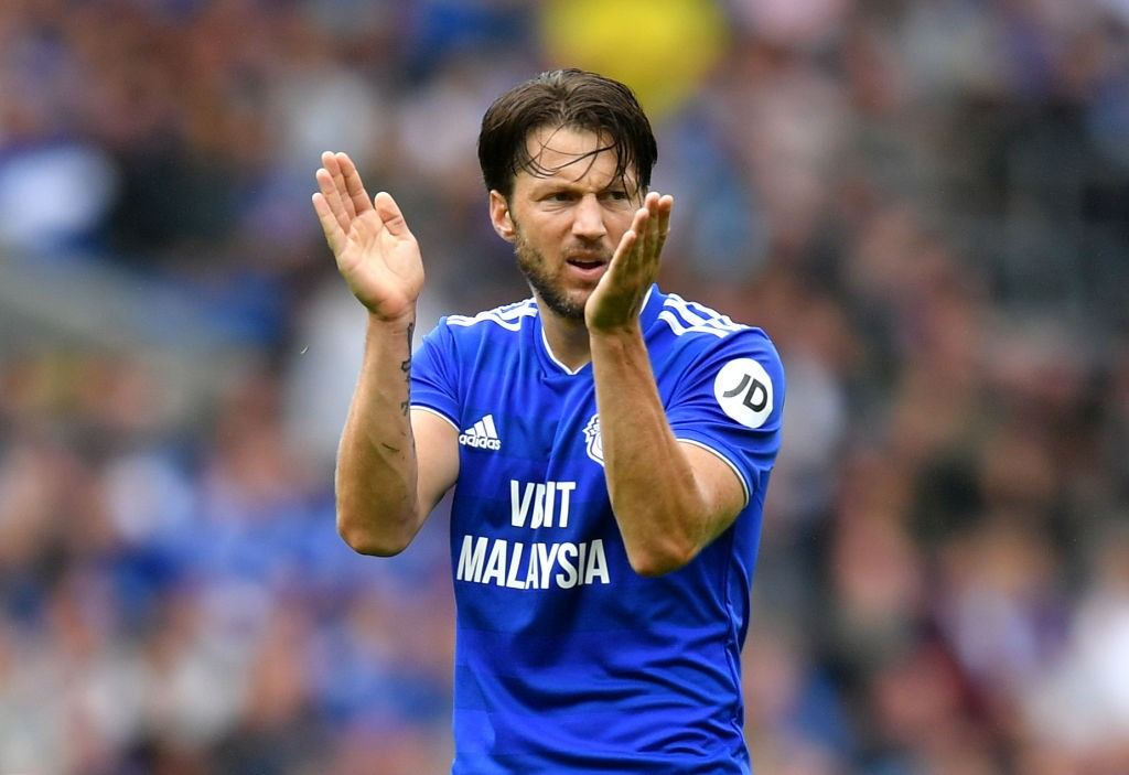 Harry Arter could return for Cardiff City after recovering from his illness. (Photo courtesy: AFP/Getty)