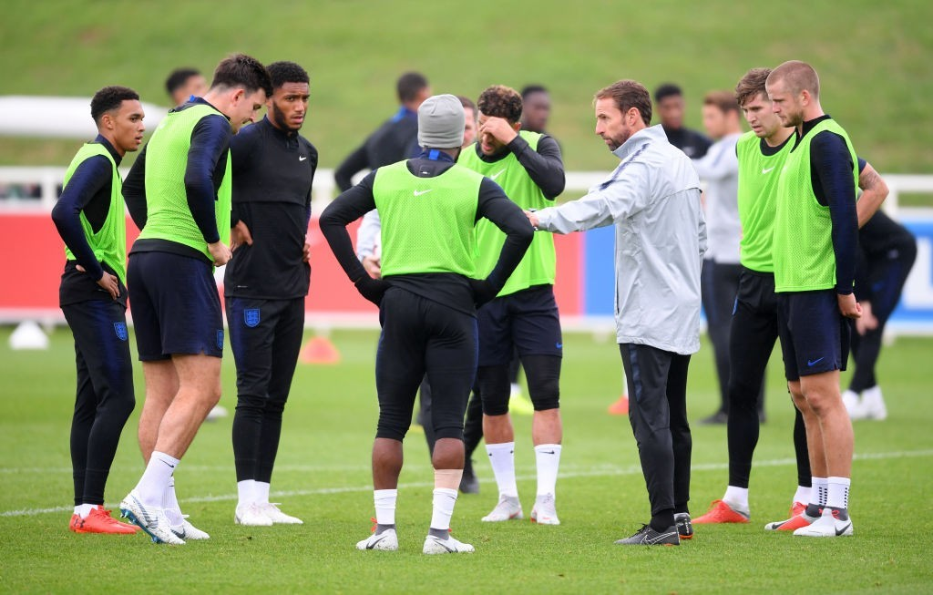 Gareth Southgate has a confident group of players at his disposal. (Photo courtesy - Laurence Griffiths/Getty Images)