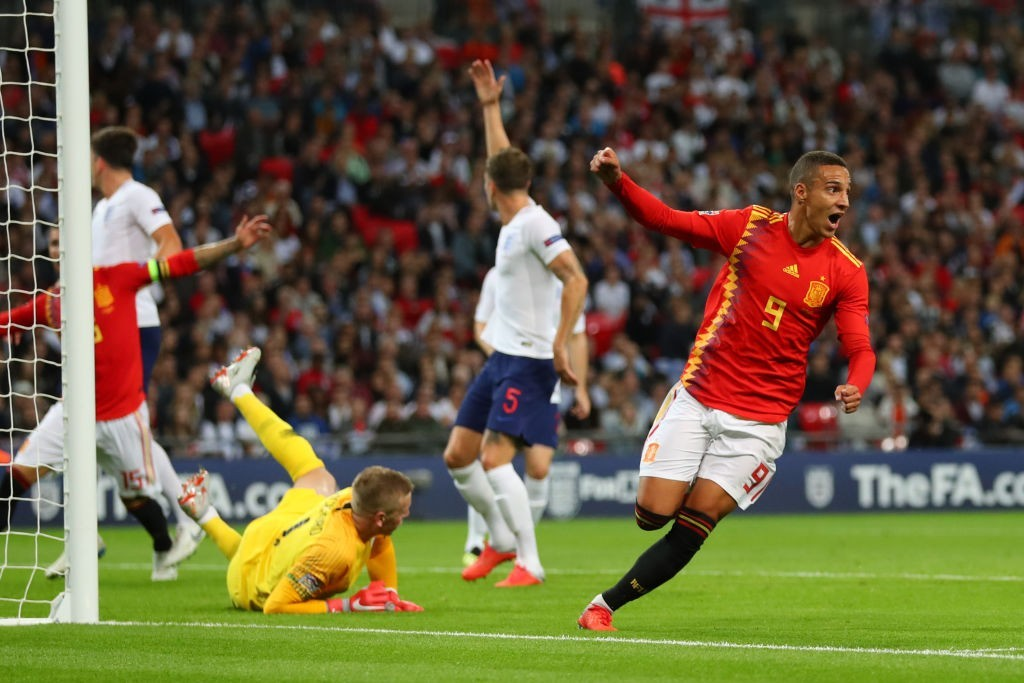 Spain's match-winner against England - Rodrigo Moreno (Photo by Catherine Ivill/Getty Images)