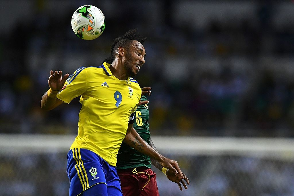Pierre-Emerick Aubameyang scored for Gabon