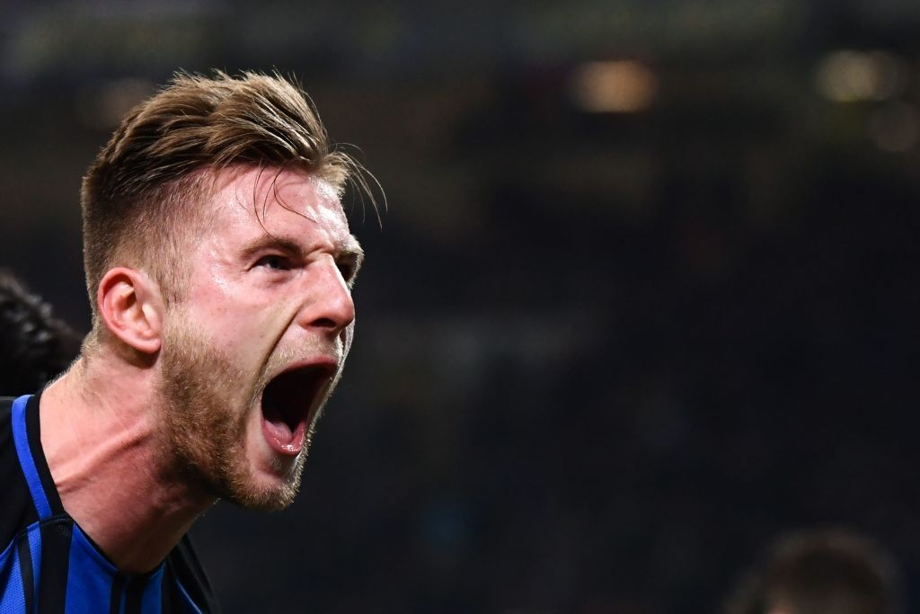 Will Skriniar be the hero against Spain? (Photo by Marco Bertorello/AFP/Getty Images)