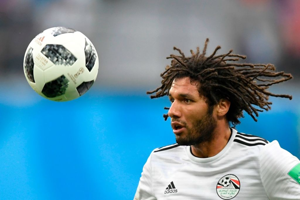 Elneny was among the scoreres for Egypt during their African Cup of Nations qualifier against