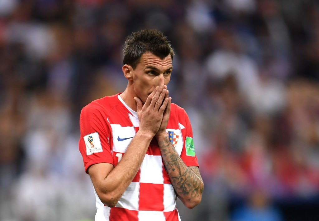 Mandzukic has announced his international retirement (Photo by Laurence Griffiths/Getty Images)