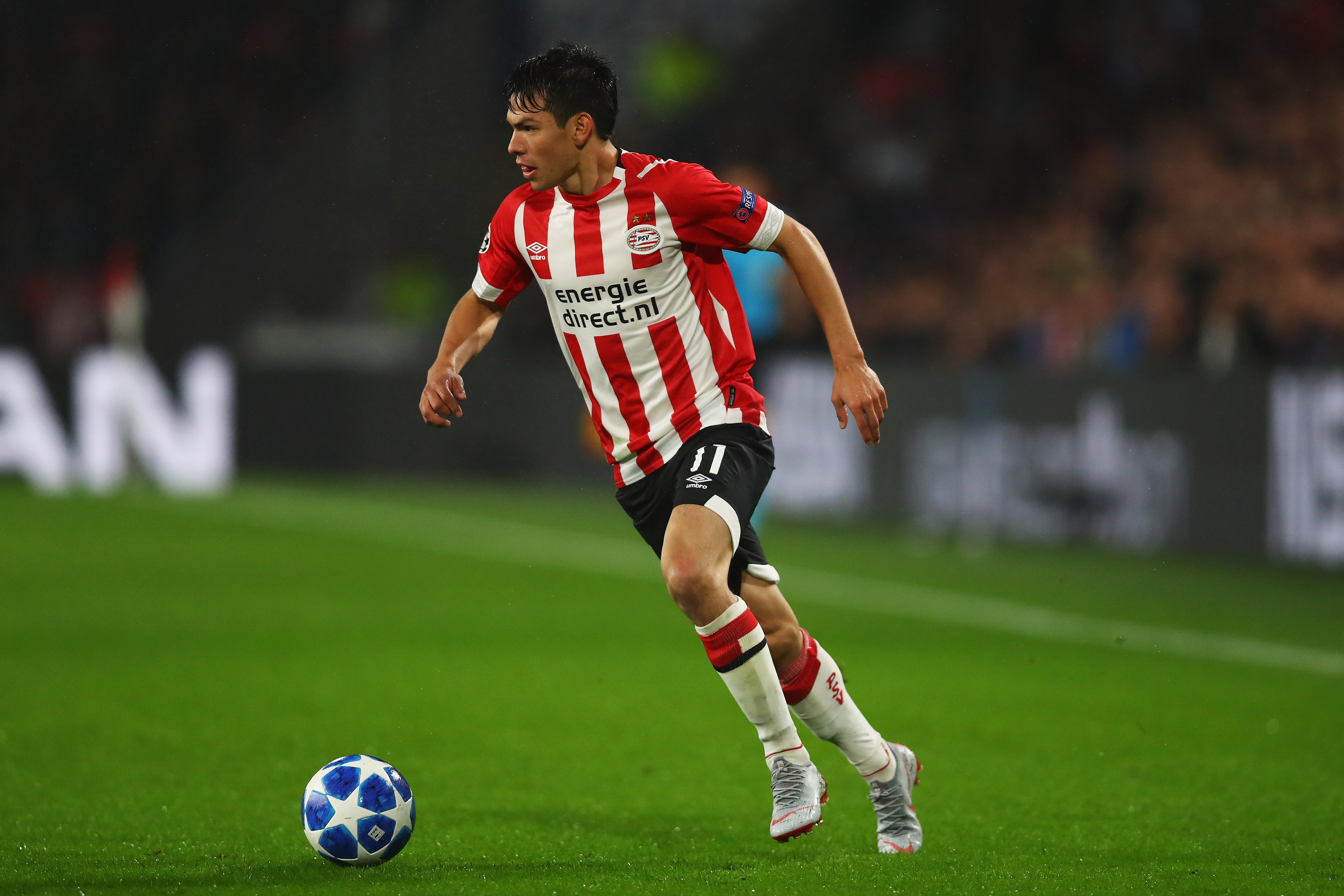 Lozano will be hoping to shine against Spurs when the Premier League team comes to Eindhoven.