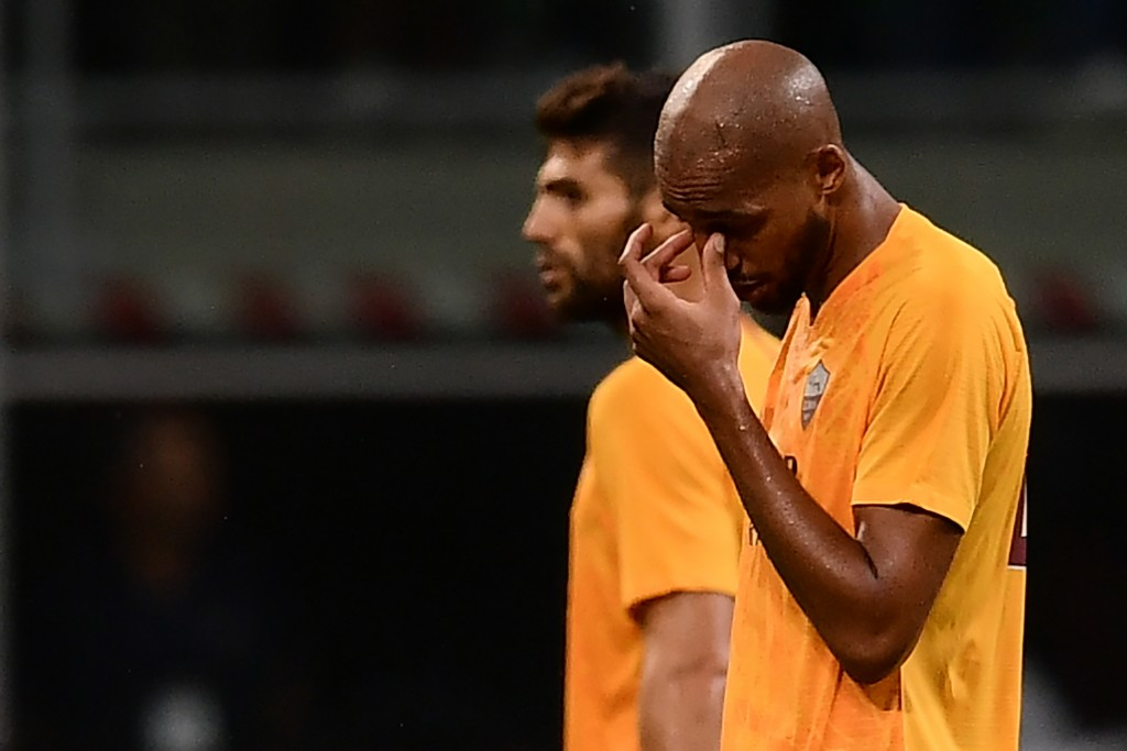 It has been a tough start to the season for AS Roma. (Photo courtesy - Marco Bertorello/AFP/Getty Images)