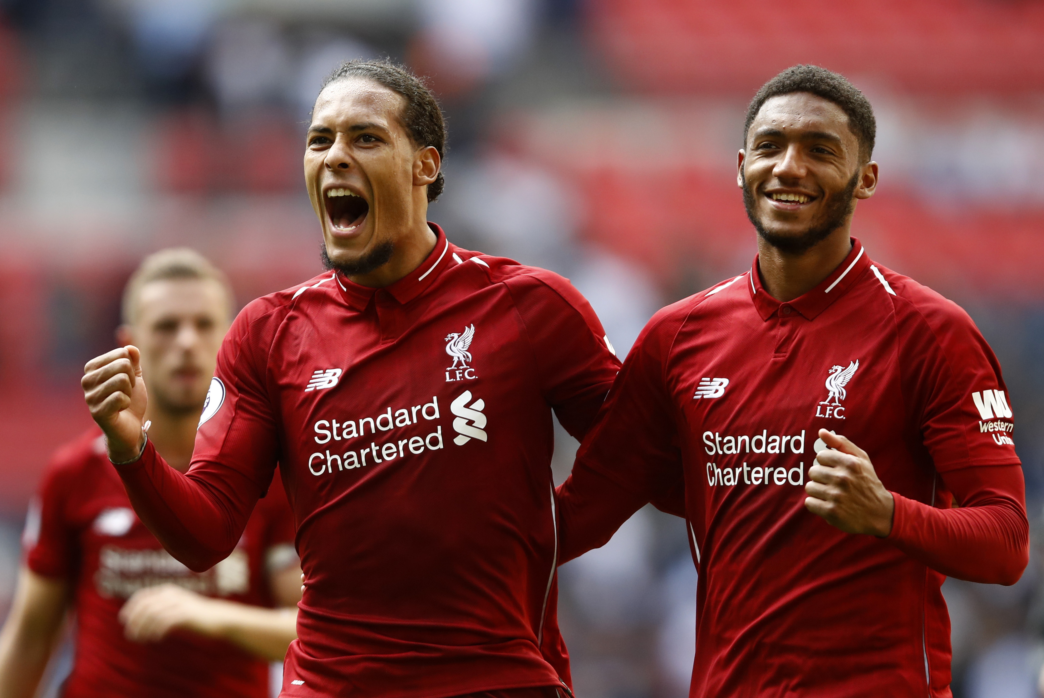 Van Dijk and Gomez are set for an extended spell on the sidelines (Photo courtesy - Julian Finney/Getty Images)