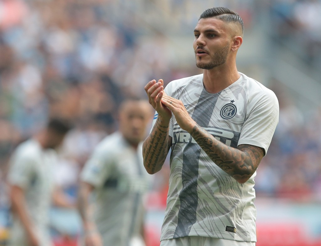 Could Icardi be donning the whites of Real Madrid soon? (Photo courtesy - Emilio Andreoli/Getty Images)