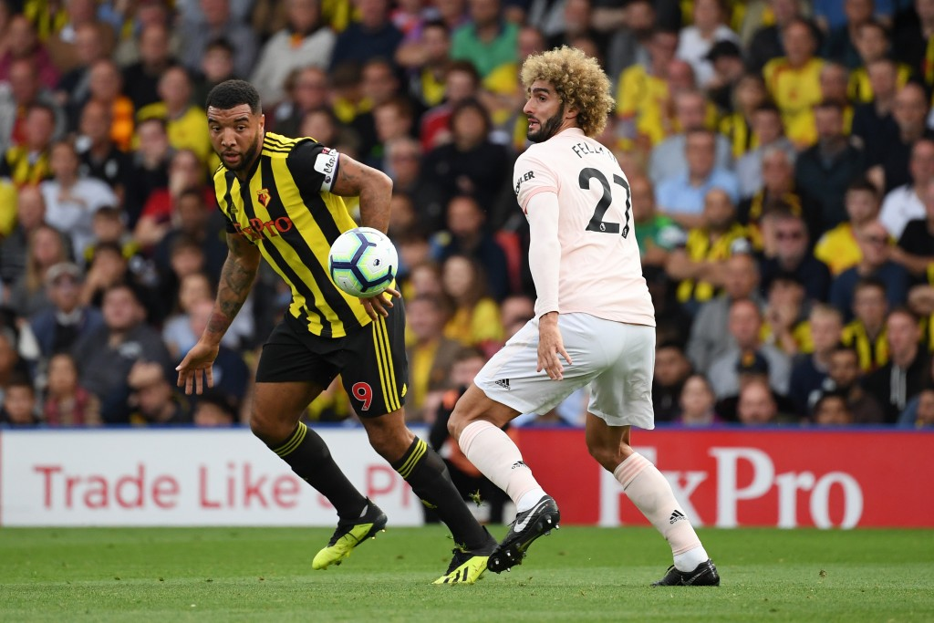 Fellaini was once more key for Mourinho's side (Photo by Ross Kinnaird/Getty Images)