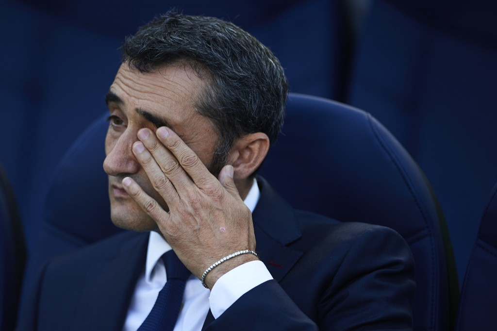 In danger of losing his job? (Photo by Aitor Alcalde/Getty Images)