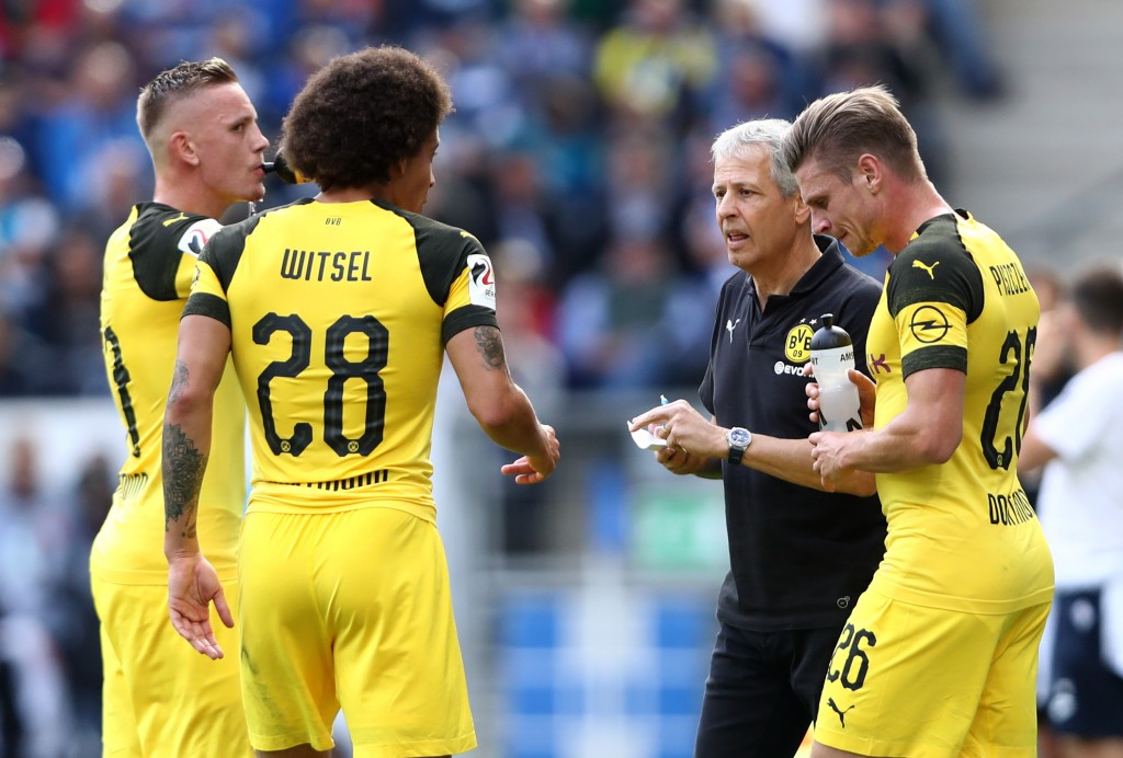 Can Lucien Favre's men find the winning formula this week? (Photo by Alex Grimm/Bongarts/Getty Images)