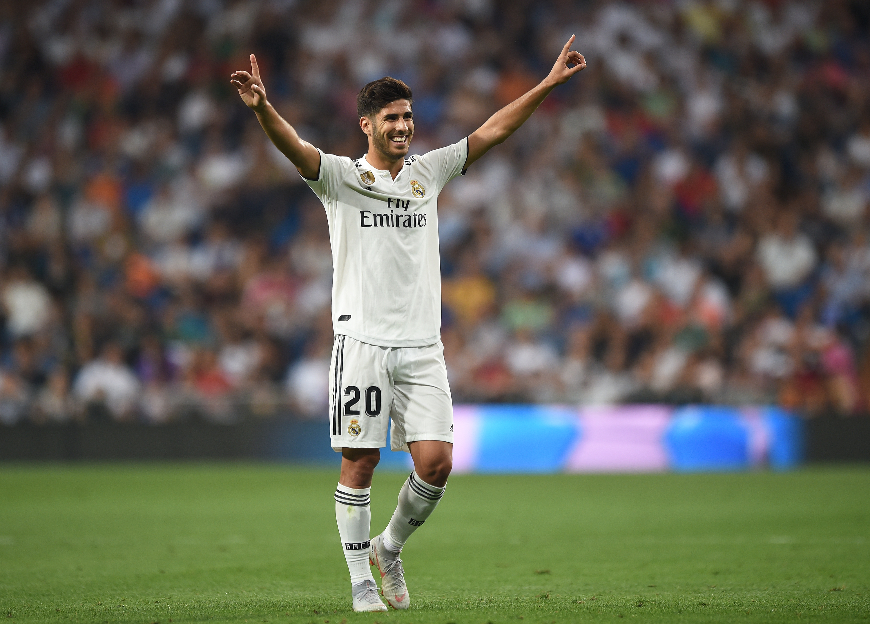 Will Asensio make his chance count? (Photo by Denis Doyle/Getty Images,)