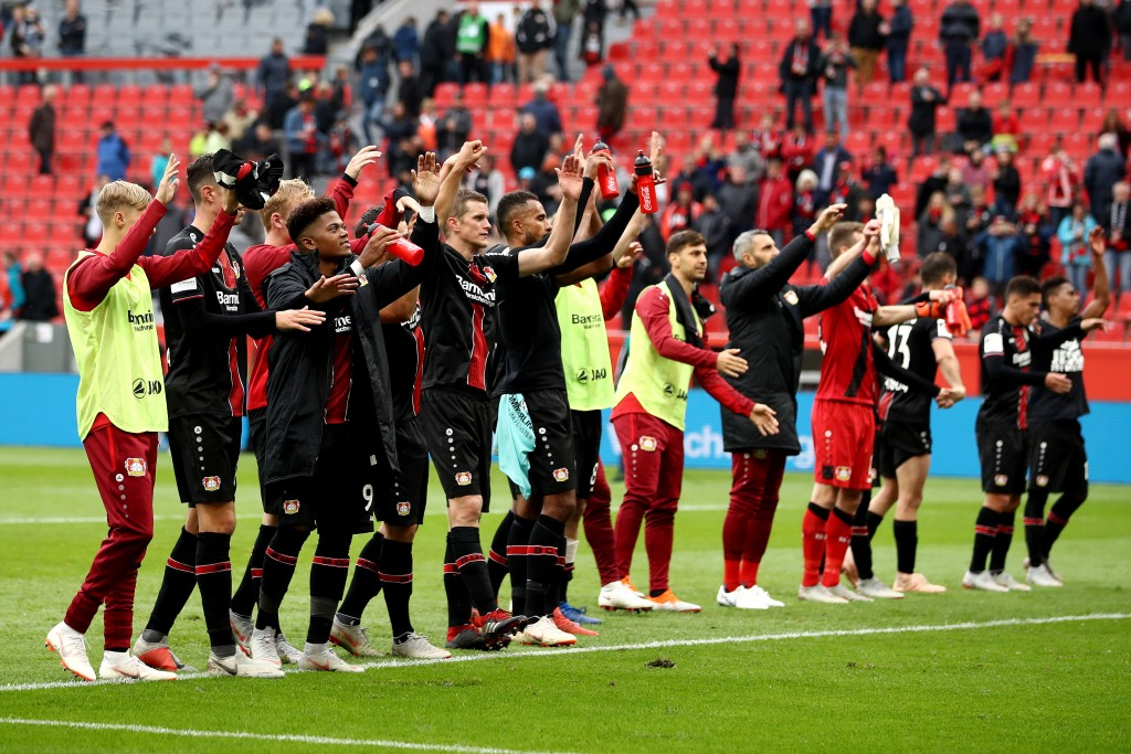 Bayer Leverkusen finally notched up their first win of the season. (Photo courtesy - Maja Hitij/Bongarts/Getty Images)