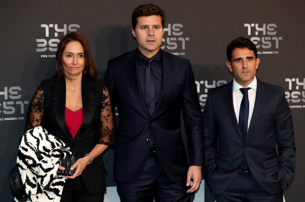Pochettino held talks with Real Madrid president Florentino Perez at the Best FIFA awards this week. (Photo courtesy - Dan Istitene/Getty Images)