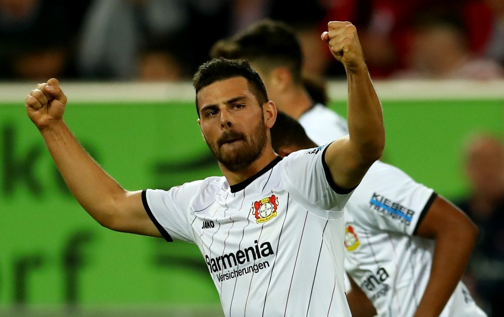 Kevin Volland was one of the best players of matchday 5. (Photo by Lars Baron/Bongarts/Getty Images)