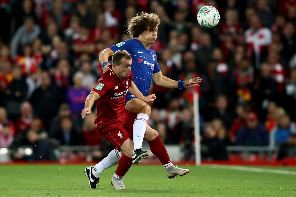 A solid display from Luiz (Photo by Jan Kruger/Getty Images)