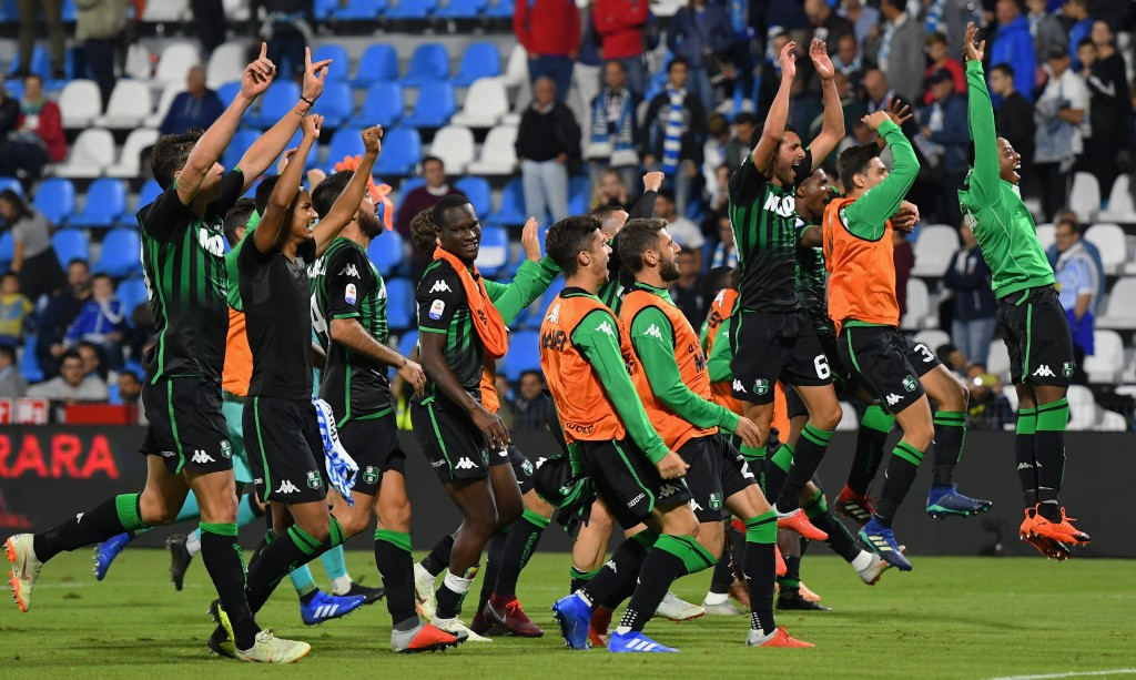 Sassuolo have been the highest scoring team in the Serie A this season. (Photo by Alessandro Sabattini/Getty Images)
