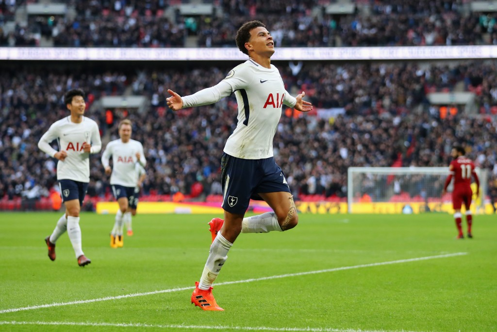 Dele Alli was one of the heroes as Spurs thrashed Liverpool last season, but won't play a part this season. (Photo courtesy - Richard Heathcote/Getty Images)