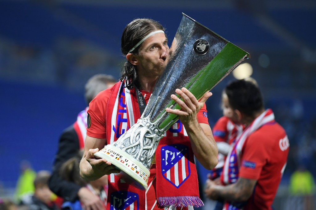 Filipe Luis will also add some winning mentality to the Arsenal dressing room. (Picture Courtesy - AFP/Getty Images)