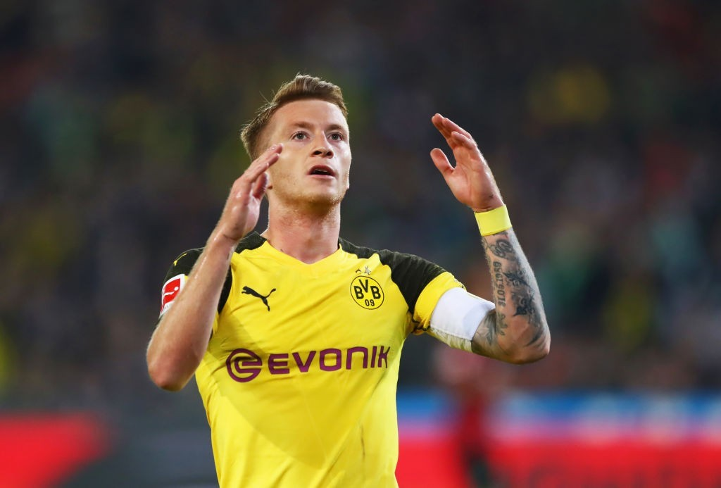 A disappointing game for Reus & co. (Photo courtesy - Martin Rose/Bongarts/Getty Images)