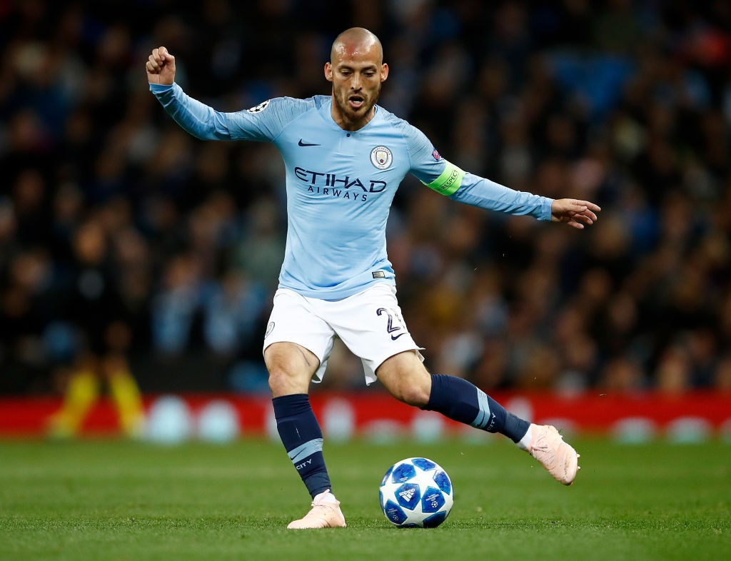 David Silva leaves behind a legacy not many can match. (Photo courtesy: AFP/Getty)