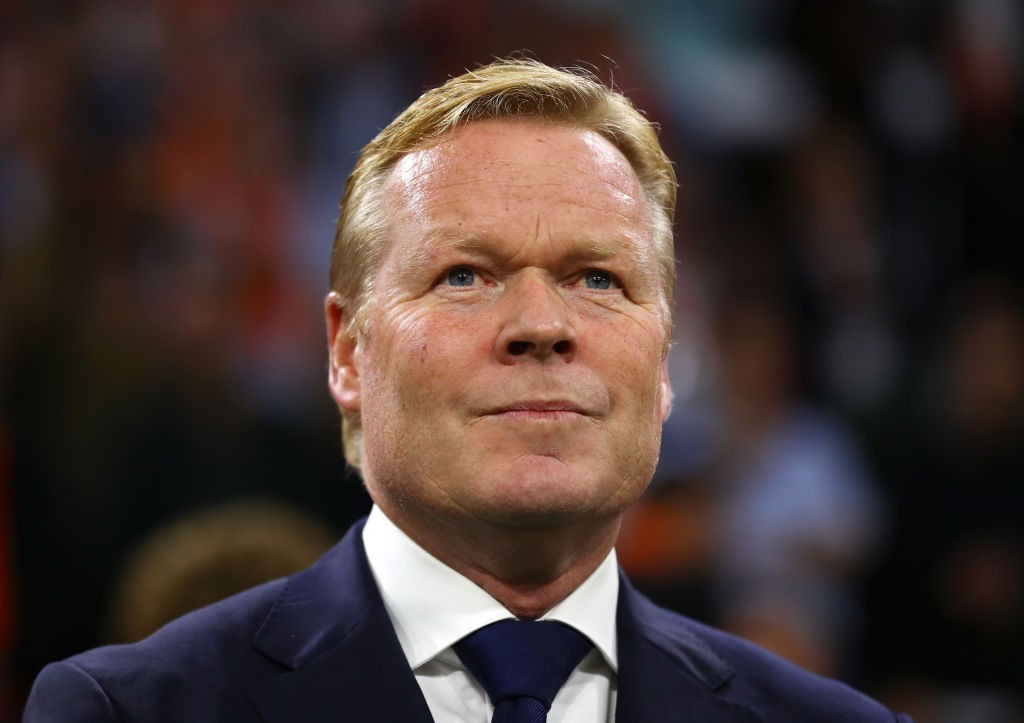 Netherlands seem to be warming up to Ronald Koeman's ways. (Photo courtesy - Dean Mouhtaropoulos/Getty Images)