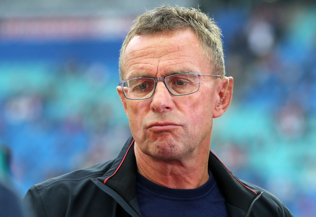 The frustrations continue for Ralph Rangnick's men. (Photo courtesy - Matthias Kern/Bongarts/Getty Images)