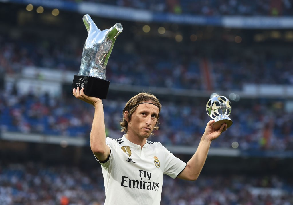 Luka Modric won the World Cup Golden Ball, UEFA Best Player award and numerous trophies during his time at Real Madrid. (Photo courtesy: AFP/Getty)