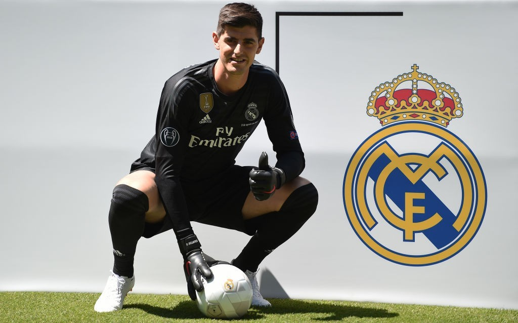 Courtois has taken to his new surroundings well. (Photo courtesy - Denis Doyle/Getty Images)