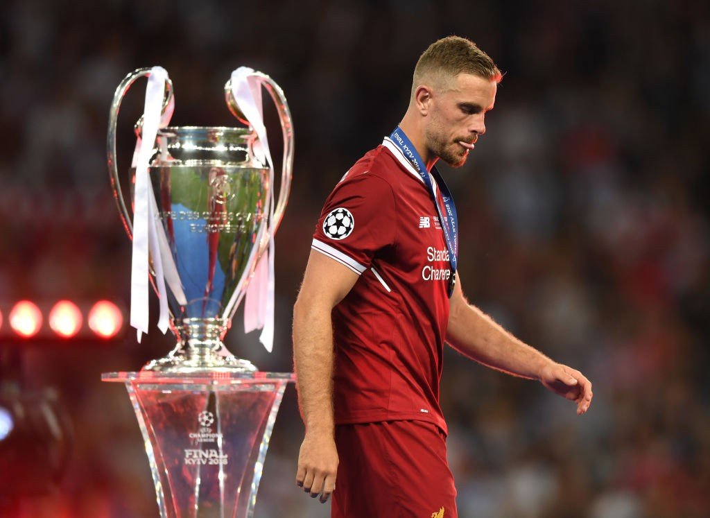 Jordan Henderson led Liverpool to the Champions League Final last season as they lost to Real Madrid. (Photo Courtesy: AFP/Getty)