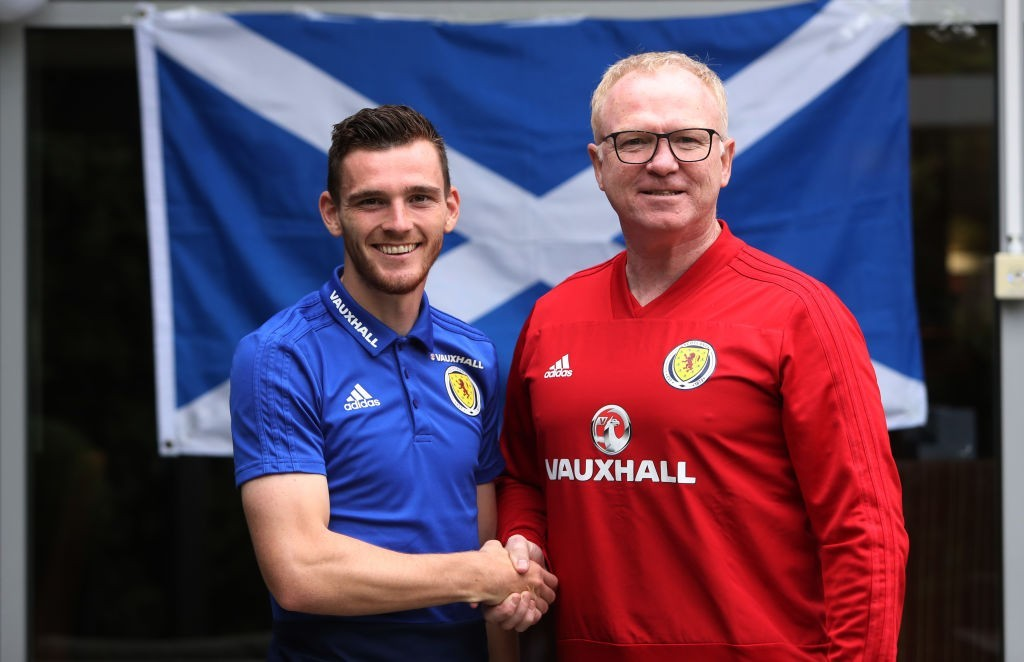 The Andrew Robertson era begins now. (Photo courtesy - Ian MacNicol/Getty Images)
