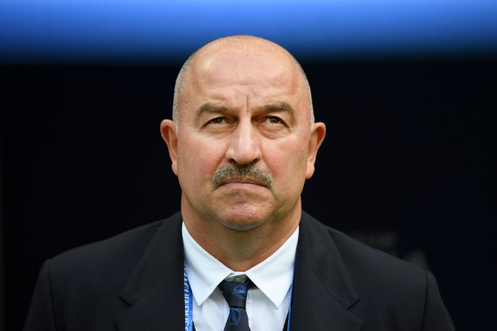 Cherchesov and Russia will be hoping to recreate the magic of the 2018 FIFA World Cup (Photo by Matthias Hangst/Getty Images)