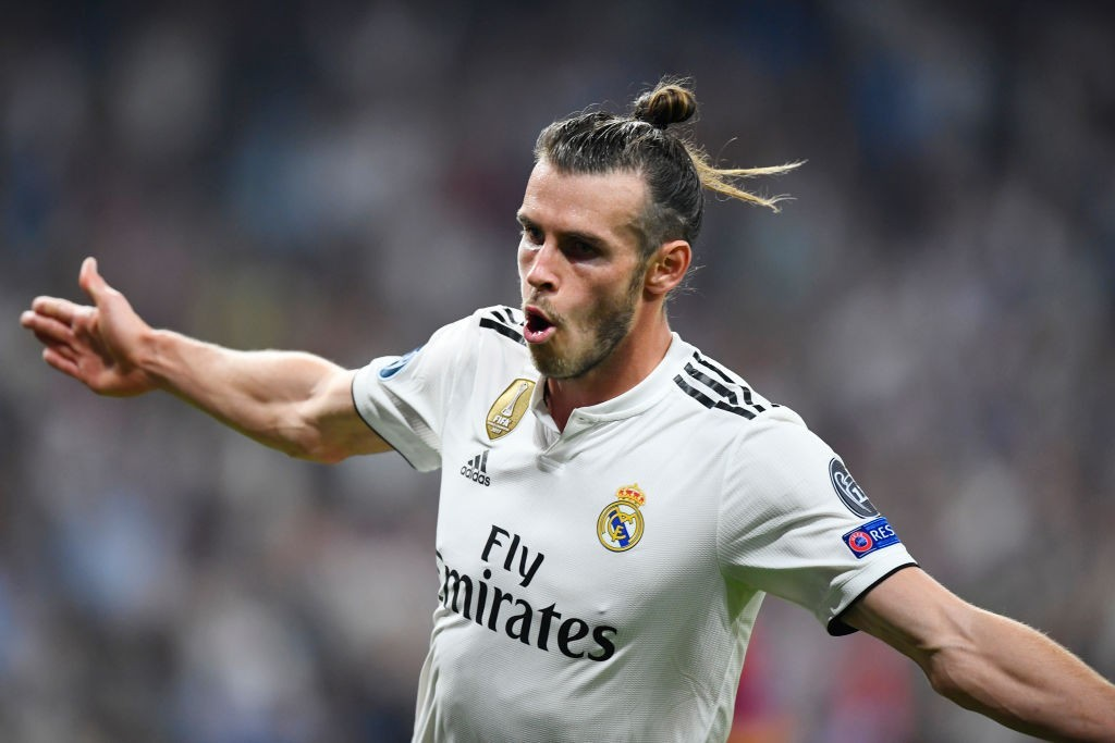 Gareth Bale is picking up form this season having already scored four goals in La Liga. (Photo by GABRIEL BOUYS/AFP/Getty Images)