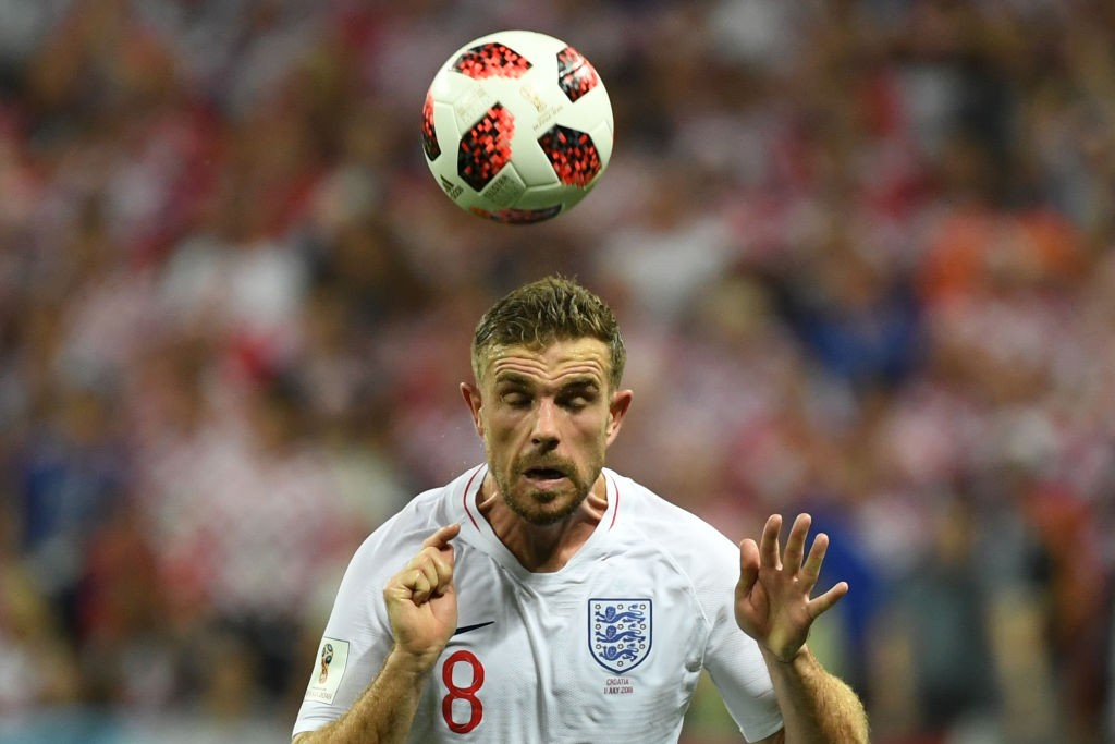 Jordan Henderson picked up an injury against Belgium (Photo courtesy: AFP/Getty)