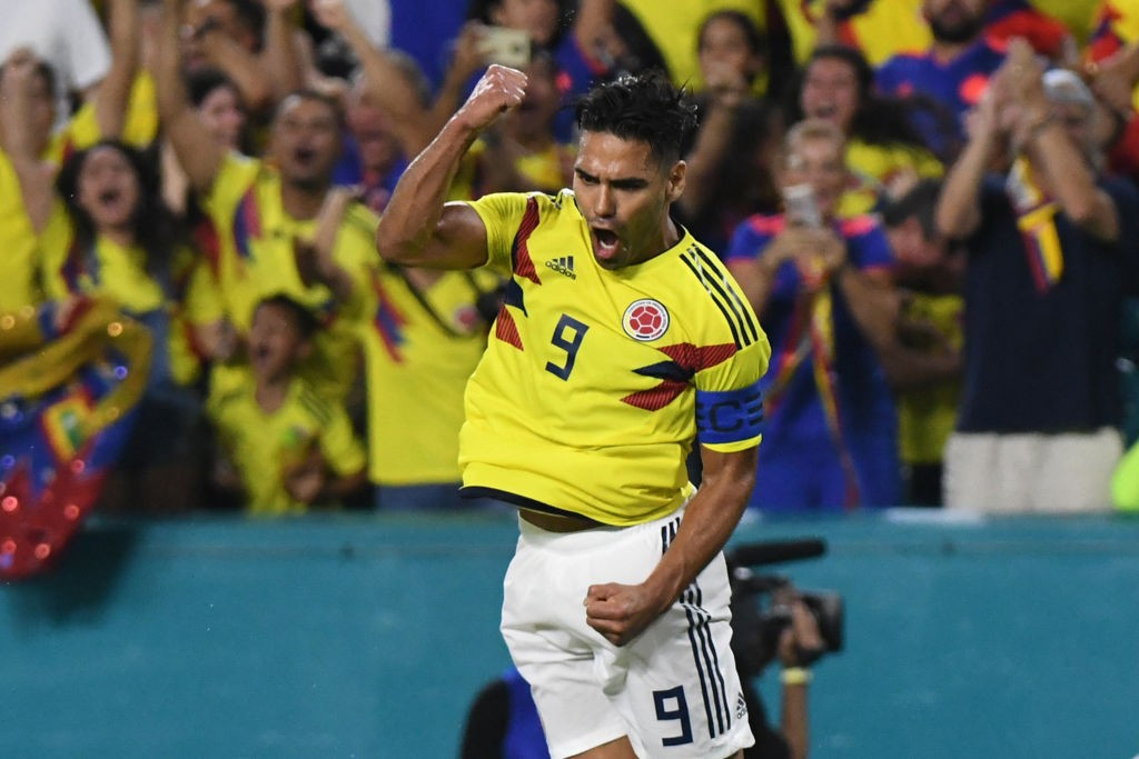 Radamel Falcao will lead Colombia against Argentina during their friendly in New Jersey. (Photo courtesy: AFP/Getty)