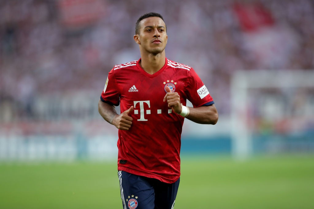 Thiago is a man in demand and could be the the man to complete Liverpool's puzzle. (Photo courtesy - Alexander Hassenstein/Bongarts/Getty Images)