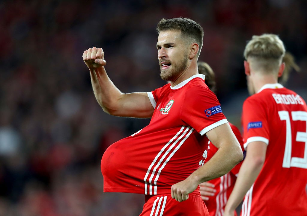 Aaron Ramsey scored for Wales during their win over the Republic of Ireland. (Photo courtesy: AFP/Getty)