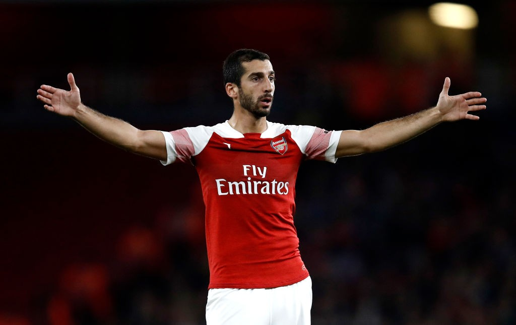 Arsenal midfielder Henrikh Mkhitaryan will sit out of the Qarabag clash due to political tensions between his nation Armenia and Azerbaijan. (Photo courtesy: AFP/Getty)