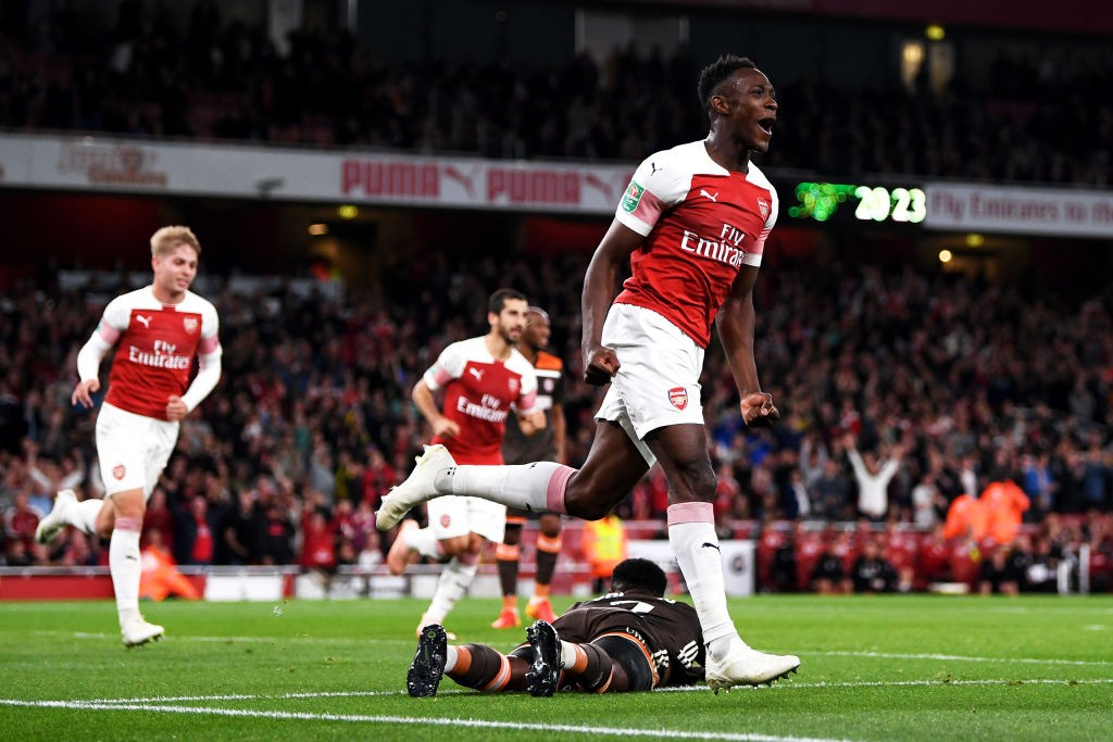Danny Welbeck could benefit from more playing time and continue with his goalscoring run for Arsenal. (Photo courtesy: AFP/Getty)