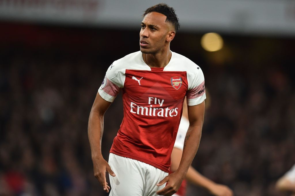 Aubameyang scored another brace from the bench for Arsenal. (Photo courtesy: AFP/Getty)
