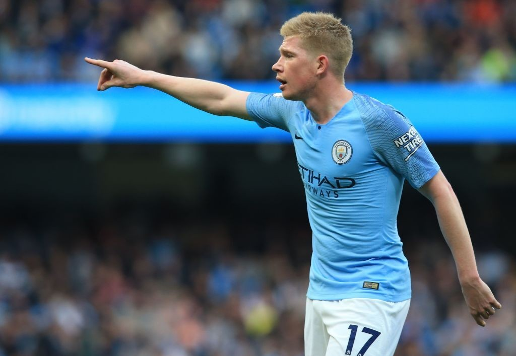 Manchester City will be missing De Bruyne, as the midfielder is yet to recover from his ligament injury. (Photo by Lindsey Parnaby/AFP/Getty Images)