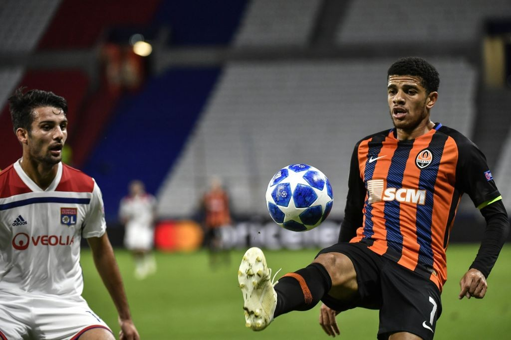 Shakhtar will have to face Manchester City without their influential captain Taison. (Photo courtesy: AFP/Getty)