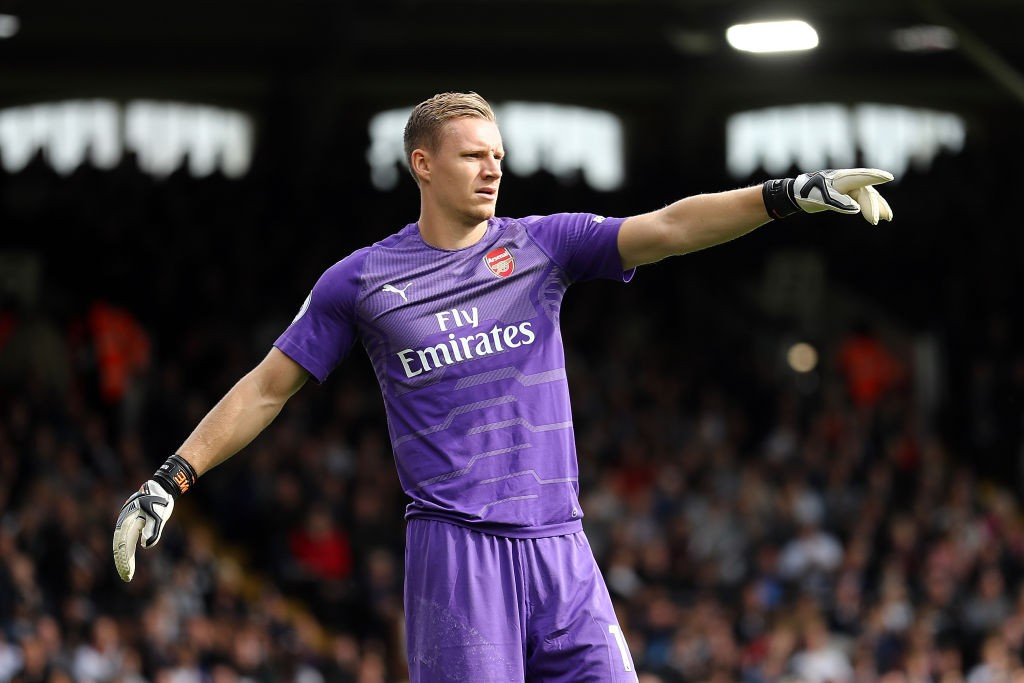 Bernd Leno's performances suggests he is ready to be Arsenal's No.1 for the foreseeable future. (Photo courtesy: AFP/Getty)