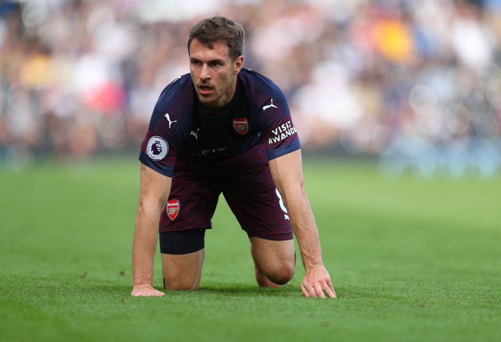 Aaron Ramsye could leave on a free transfer at the end of the season after breakdown in talks with Arsenal over a new contrat. (Photo courtesy: AFP/Getty)