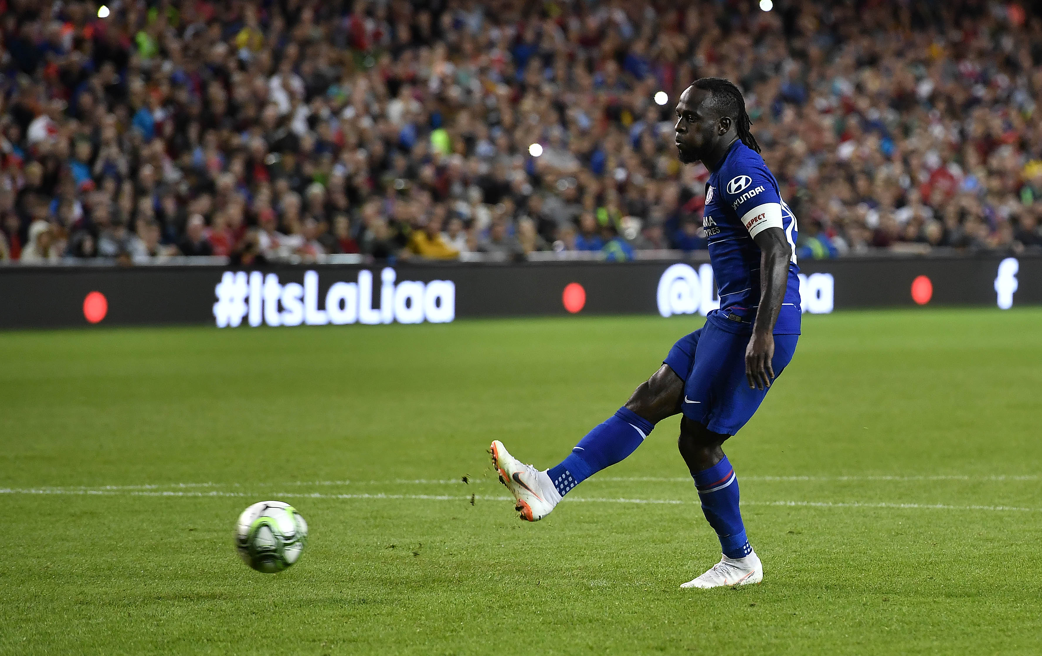 Moses was an integral part of Antonio conte's Chelsea side. (Photo by Charles McQuillan/Getty Images)