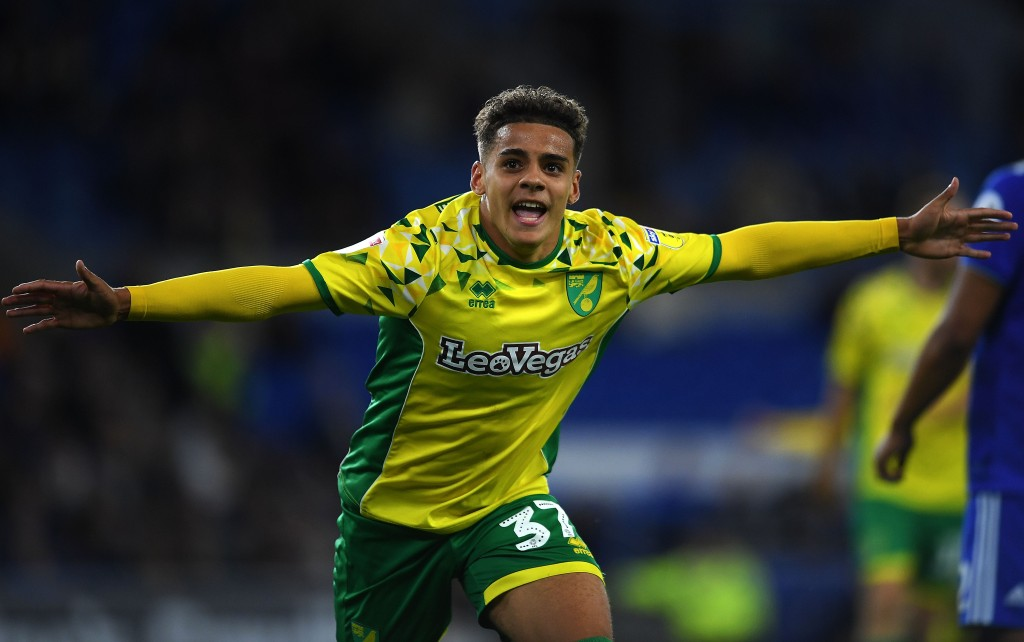 Aarons is enjoying a sensational debut season with Norwich (Picture Courtesy - AFP/Getty Images)