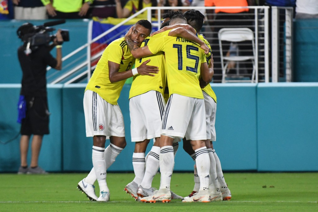 Colombia will be confident after a win over Venezuela. (Photo by Eric Espada/Getty Images)